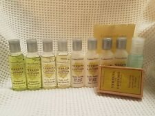 CRABTREE & EVELYN VERBENA & LAVENDER TRAVEL/GIFT SET SMALL 24ML 25G SOAP