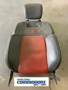 Genuine Holden Commodore VE SS Left Hand Front Seat Top Red Complete