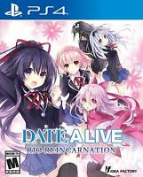 Date a Live Rio Reincarnation PS4 Playstation 4 Brand New Region Free
