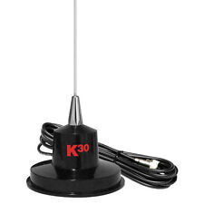 K40 K-30 35-Inch 300W Stainless Steel Magnet Mount CB Antenna