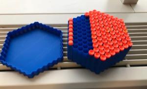 3d-Printed Nerf Dart Hive Box