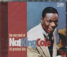 THE VERY BEST OF NAT KING COLE on 2 CD's - NEW -