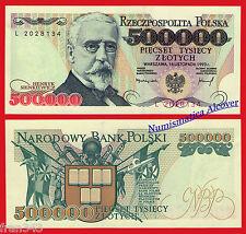 POLONIA POLAND 500000 Zlotych 1993 Pick 161  SC /  UNC