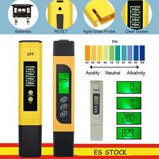 medidor digital de pH LCD +3 en 1 TDS EC  Temperatura Probador Pluma AMARILLO
