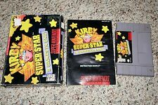 Kirby Super Star (Super Nintendo Entertainment System SNES) Complete FAIR H