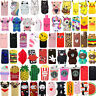 For iPhone SE 5 5s 5c 4s Hot 3D Cute Cartoon Soft Silicone Phone Case Cover Skin