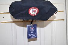 Ralph Lauren  2012 Olympic Navy Blue Beret Official Hat Team USA size M