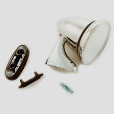 CLASSIC MINI TEX STYLE CHROME BULLET TORPEDO DOOR MIRROR L/H GAM108 N/S 6E5