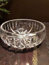 Elegant St Louis Cristal France Lead Crystal Large Bowl