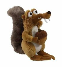 "7"" SCRAT SQUIRELL PLUSH  SOFT TOY ICE AGE 4 BNWT CONTINENTAL DRIFT NUT"
