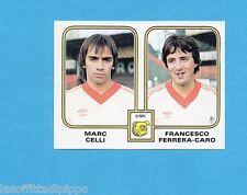 BELGIO-FOOTBALL 81-PANINI-Figurina n.420- CELLI+FERRERA CARO- OLYMPIC -Rec