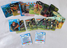 Woolworths Dreamworks Heroes Lenticular Cards - 33 Card Lot