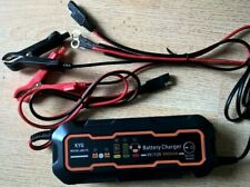 KYG 6/12V 5A Battery Charger & Maintainer for Car and Motorcycle