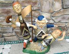 Blatz Beer Baseball Statue Display Advertising