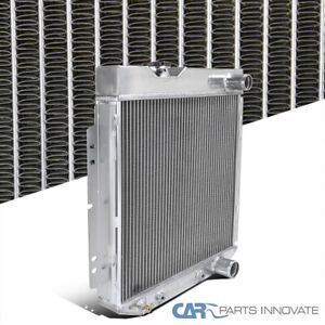 For 64-66 Mustang Shelby V8 3-Row Manual Transmission Aluminum Cooling Radiator