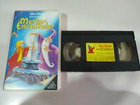 MERLIN EL ENCANTADOR Walt Disney - VHS Cinta Tape Español