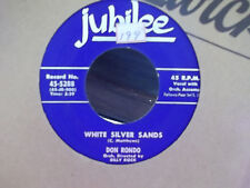 RON RONDO ON JUBILEE RECORDS WHITE SILVER SANDS / STARS FELL ON ALABAMA