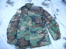 GENUINE american USA Issue WOODLAND CAMO CAMOUFLAGE M65 M 65 COAT FIELD jacket