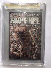 Tmnt Teenage Mutant Ninja Turtles Raphael CGC 9.0 Signed Sketch Eastman