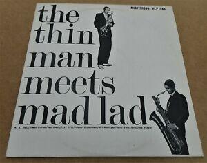 Wardell Gray & Leo Parker Quartet: The Thin Man Meets Mad Lad LP MLP 1983 Jazz
