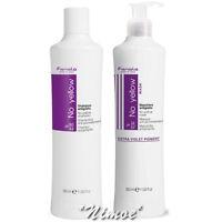 No Yellow Start Kit Mask 350ml + Shampoo 350ml Fanola ®Bleached Grey Blonde Hair