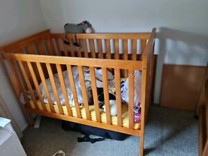 Childcare Timber Cot with Mattress