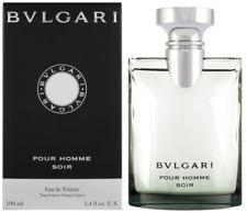 BVLGARI BULGARI POUR HOMME SOIR EAU DE TOILETTE 100ML EDT NEU & OVP