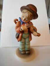 """New ListingHummel Goebel Figurine Little Fiddler 12/0 W Germany 5.5"""""""