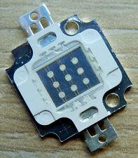 10 W LED Chip blau, blue 9 - 12V, 35 * 35 mil , 300- 400 Lm, COB, Aquarium, Neu