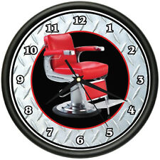 BARBER CHAIR Wall Clock hair salon stylist shop gift