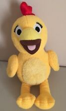 """SPROUT Chica Yellow Chicken stuffed squeaking plush 12"""" by Fiesta 2011"""