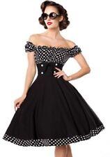 Shoulder aus Polyester-Off Damenkleider mit L
