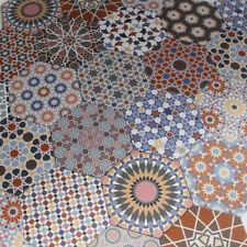 Orientalische mediterrane hexagonal Feinsteinzeug Wand Boden Fliese Chakib 1 qm