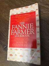 Vintage 1990 THE FANNIE FARMER COOKBOOK Recipes Cook Book Cooking