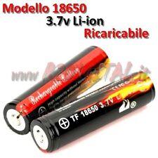 BATTERIE 18650 3,7v 4200mAh RECHARGEABLE LI-ION LED FLASHLIGHT PUISSANCE BANQUE