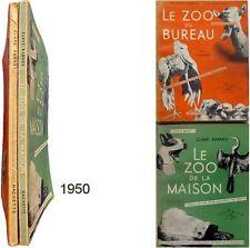 Le Zoo du bureau de la maison 1950 Clare Barnes photographie animaux humour