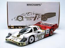 Minichamps Porsche 956 LH American 100s Le Mans 1985 Fitzpatrick racing #33 1/18
