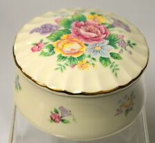 Heritage House Music Trinket Box-Porcelain-Celebation Floral Collection - no box