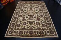 nr 2959 Modern Teppich Handtufted Beige aus Wolle ca 245 x 170 cm Neu