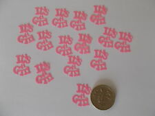 50 PINK ITS A GIRL BABY SHOWER CONFETTI TABLE SPRINKLES DECORATIONS