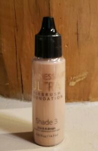 NEW SEALED LUMINESS AIR AIRBRUSH MAKEUP ULTRA SHADE 3 FOUNDATION .50 OZ