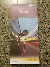 Aaa Texas State Travel Road Map Vacation Roadmap 2019-2021