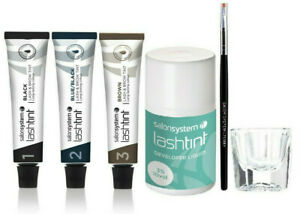 Salon System Eyelash Eyebrow Tint 15ml - Many Option to Choose From NEW RANGE