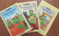 3 Franklin books--Pumpkin, Surprise, Music lessons  Kid's Can Read  paperback