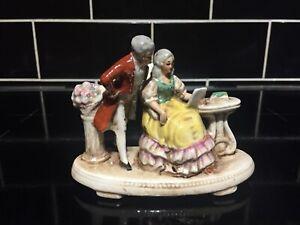 Antique 19th Century German Gräfenthal Couple Figurine Carl Schneider 1875-79