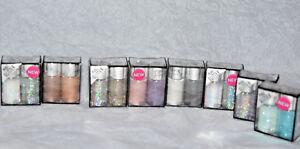 4x NIB Hard Candy Pure Glitter Poppin Pigments U CHOOSE COLOR💛