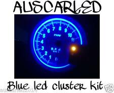 Mazda 323 1998-2003 Bright Blue LED Dash Instrument Cluster Light Globe Bulb Kit