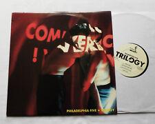PHILADELPHIA FIVE Trilogy BELGIUM LP KK Records (1990) Indus-Synth pop MINT