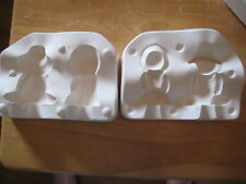 "Small Amish Couple 3"" Figures Ceramic Mold Doc Holiday 696"