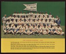 1975 Los Angeles Dodgers Team Photo
